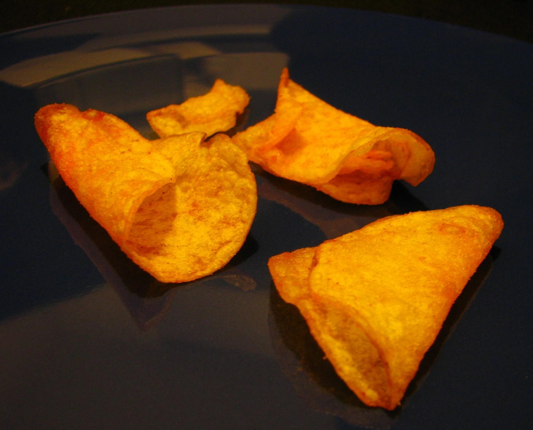 gekringelte Chips