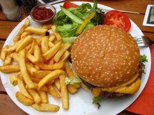 Jumbo Cheeseburger