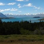 Blick auf Lake Tekapo und die Südalpen