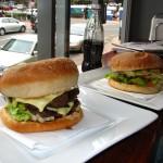 Burger bei Velvet Burger in Dunedin