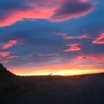 Sonnenaufgang nach stürmischer Nacht
