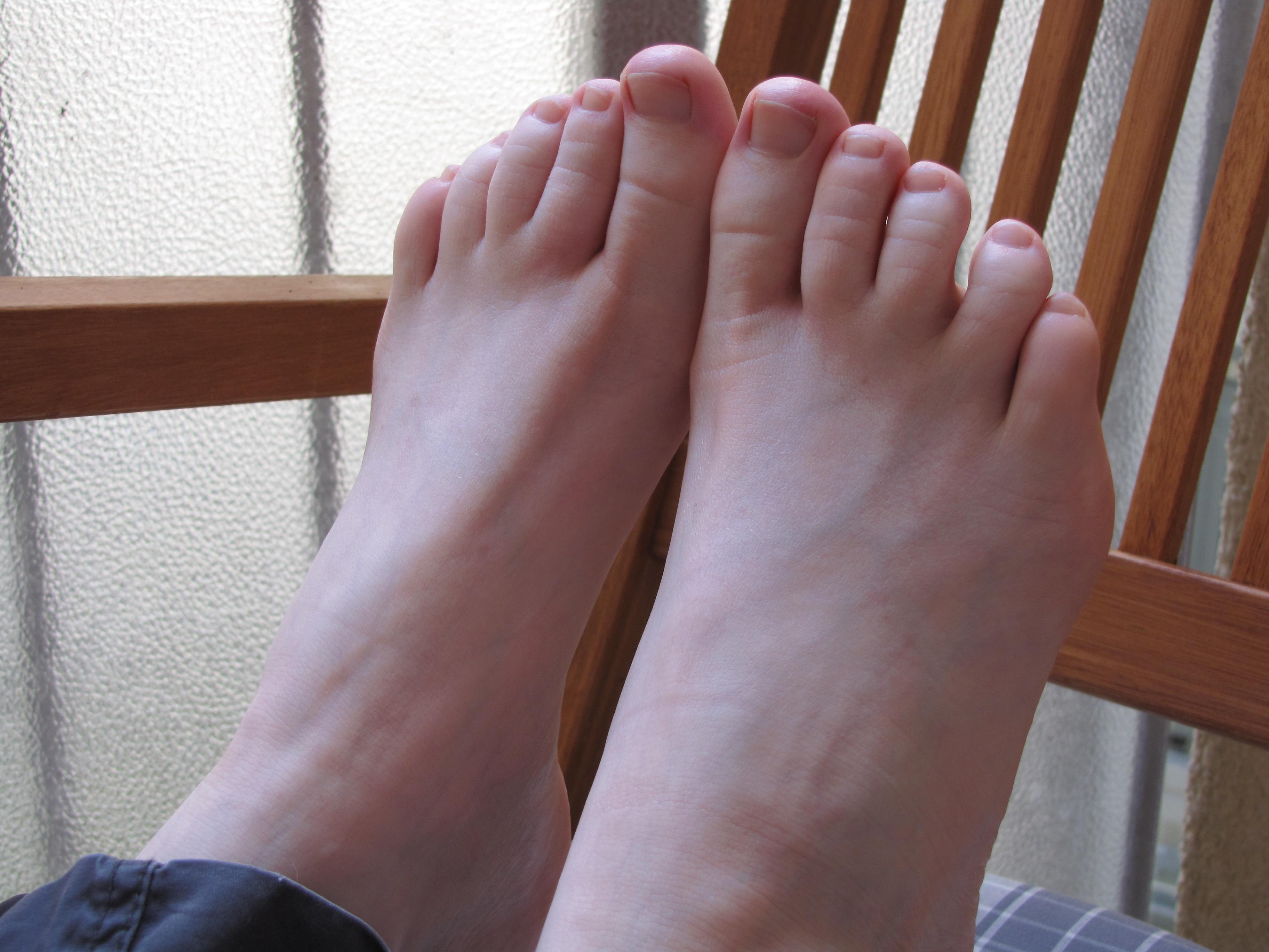 Mädchen Füße