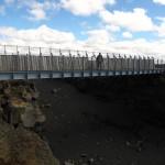 Brücke zwischen Amerika + Europa