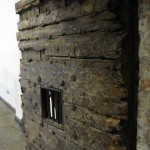 Tür im Kilmainham Gaol Gefängnis