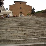Santa Maria in Aracoeli mit Lotto-Rutsch-Treppe