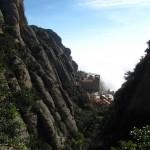 Kloster noch im Nebel