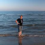 Füße im Mittelmeer