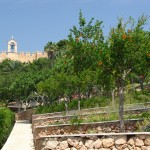 Gärten in Alcazaba