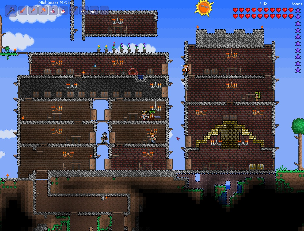 version history terraria wiki fandom powered by wikia - HD 1280×972