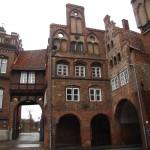 Lübeck, am Burgtor