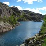 So Wasser... mit Bergen