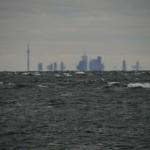 Toronto über Lake Ontario
