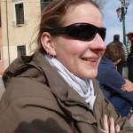 Alte Sonnenbrille